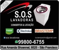 S.O.S REFRIGERAÇÃO E LOCAÇÃO DE LAVADORAS