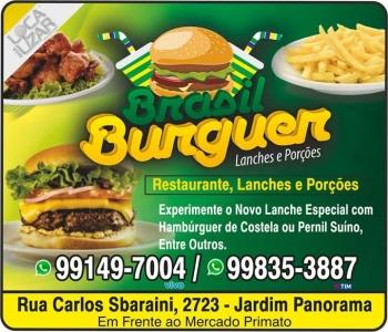 BRASIL BURGUER RESTAURANTE / LANCHES / PORÇÕES