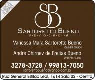 ADVOCACIA VANESSA MARA SARTORETTO BUENO / DIREITO PREVIDENCIÁRIO E ADMINISTRATIVO / SARTORETTO BUENO