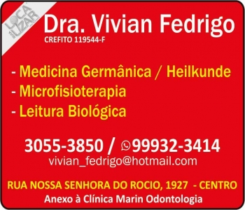 CLÍNICA DE MICROFISIOTERAPIA VIVIAN FEDRIGO / LEITURA BIOLÓGICA