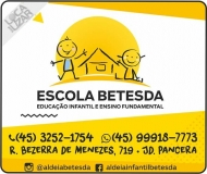 BETESDA ALDEIA INFANTIL CENTRO SOCIAL E EDUCACIONAL ESCOLA
