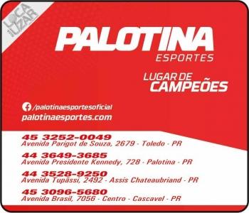 PALOTINA ESPORTES / ARTIGOS ESPORTIVOS