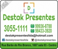 DESTAK PRESENTES E DECORAÇÕES