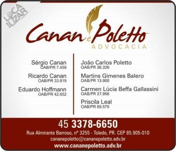 ADVOCACIA SERGIO CANAN / DIREITO PENAL / CANAN E POLETTO