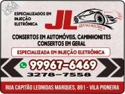 Cartão: JL AUTOMECÂNICA E AUTOELÉTRICA