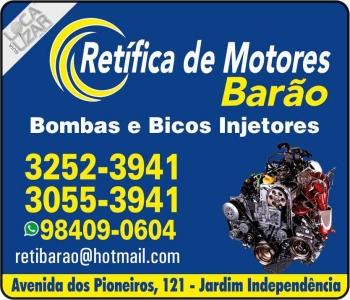 BARÃO RETÍFICA DE MOTORES