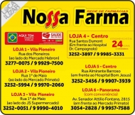 NOSSA FARMA FARMÁCIA MEDICAMENTOS E PERFUMARIAS / DISK REMÉDIOS