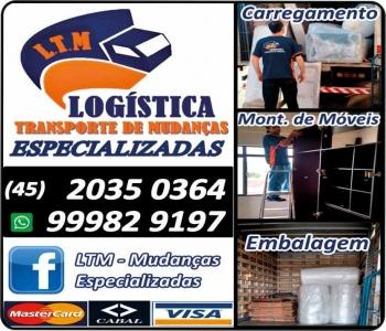 LTM TRANSPORTE DE MUDANÇAS
