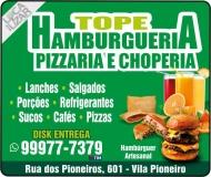 TOPE HAMBURGUERIA / CHOPERIA / PIZZARIA / DISK PIZZA