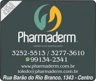 PHARMADERM FARMÁCIA DE MANIPULAÇÃO