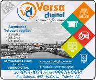 VERSA DIGITAL COMUNICAÇÃO VISUAL
