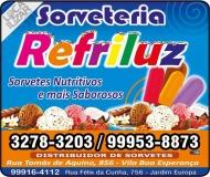 REFRILUZ SORVETES SORVETERIA