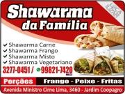 Cartão: SHAWARMA DA FAMÍLIA E DISK MARMITEX