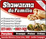 SHAWARMA DA FAMÍLIA / DISK MARMITEX
