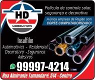 HD WINDOW FILMS INSULFILME E ACESSÓRIOS AUTOMOTIVOS