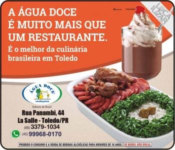 ÁGUA DOCE CACHAÇARIA / RESTAURANTE
