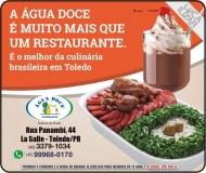ÁGUA DOCE CACHAÇARIA RESTAURANTE
