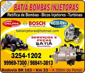 BATIÁ BOMBAS INJETORAS / MECÂNICA