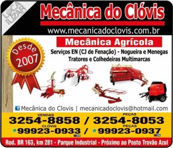 CLÓVIS MECÂNICA DE MÁQUINAS AGRÍCOLAS