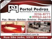 Cartão: PORTAL PEDRAS MARMORARIA MÁRMORES E GRANITOS