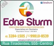 CIRURGIÃO DENTISTA EDNA STURM / DENTÍSTICA RESTAURADORA