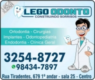 CIRURGIÃO DENTISTA LEANDRO GOTARDELLO ALVES / IMPLANTODONTISTA / LEGO ODONTO