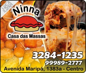 NINNA CASA DAS MASSAS