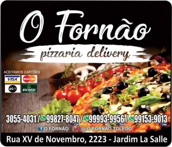 O FORNÃO PIZZARIA / DISK PIZZA