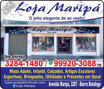 LOJA MARIPÁ CALÇADOS / CONFECÇÕES