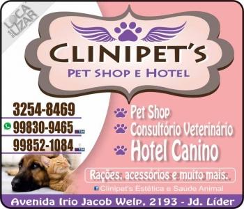 CLINIPET'S CONSULTÓRIO VETERINÁRIO E PET SHOP / HOTEL