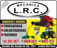 L.R.C MECÂNICA DE MÁQUINAS AGRÍCOLAS DO LAERCIO