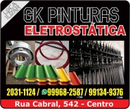 GK PINTURAS ELETROSTÁTICA