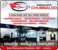 CHUMBALDO AUTOMECÂNICA E AUTOPEÇAS CHUMBO E ALDO