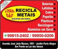 XANDÃO RECICLAGEM RECICLA METAIS