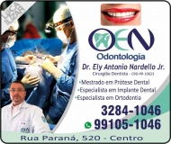 CIRURGIÃO DENTISTA ELY ANTONIO NARDELLO JUNIOR / IMPLANTODONTISTA / OEN