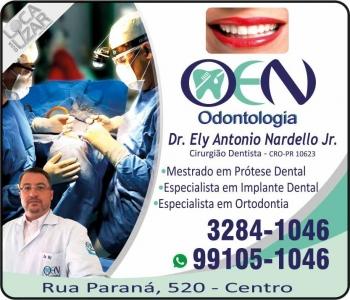 CIRURGIÃO DENTISTA ELY ANTONIO NARDELLO JUNIOR / IMPLANTODONTISTA / OEN