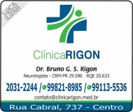 CLÍNICA DE NEUROLOGISTA BRUNO G. S. RIGON / DISTÚRBIO DO SONO / ENXAQUECA / RIGON
