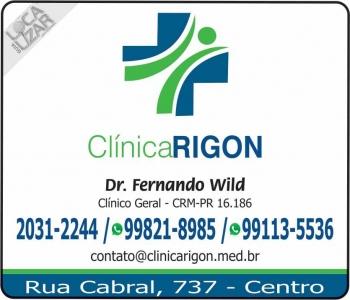 CLÍNICA MÉDICA GERAL FERNANDO WILD / RIGON