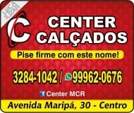 CENTER CALÇADOS ESPORTES E CONFECÇÕES