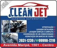 CLEAN JET LAVA CAR / ESTÉTICA AUTOMOTIVA