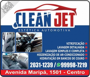 CLEAN JET LAVA CAR / ESTÉTICA AUTOMOTIVA