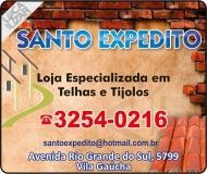 SANTO EXPEDITO TELHAS E TIJOLOS MATERIAIS DE CONSTRUÇÃO