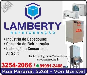 LAMBERTY REFRIGERAÇÃO E INDÚSTRIA DE BEBEDOUROS