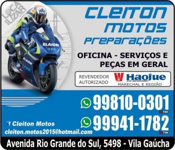 CLEITON MOTOS MECÂNICA DE MOTOS