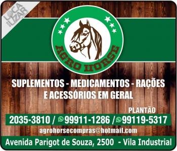 AGRO HORSE AGROVETERINÁRIA / MEDICAMENTOS E SUPLEMENTOS