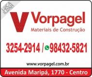 VORPAGEL MATERIAIS DE CONSTRUÇÃO