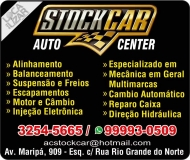 STOCK CAR MECÂNICA E AUTOCENTER