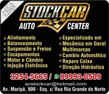 STOCK CAR MECÂNICA E AUTOCENTER