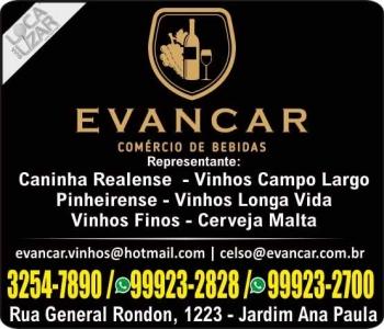 EVANCAR DISTRIBUIDORA DE BEBIDAS / VINHOS