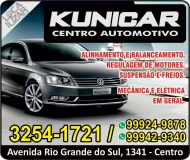 KUNICAR AUTOMECÂNICA / CENTRO AUTOMOTIVO MULTIMARCAS